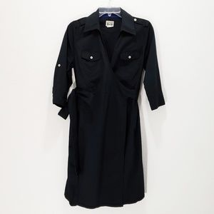 Converse Dress Wrap Black Tab Sleeve Size Medium